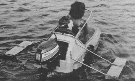 Sailing Moturist Sidecar