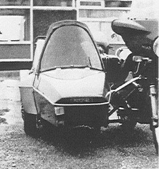 Ed Pols' Moturist Sidecar