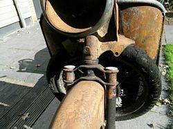 Moto Guzzi Galletto 192 front fork