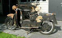 mijn Moto Guzzi Galletto 192