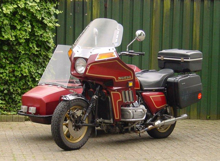 Wim van Eijks Honda GL 1100 - Moturist combinatie