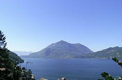het Comomeer: zicht op Menaggio