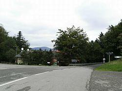 Hotelletje op de Col de Hundsruck