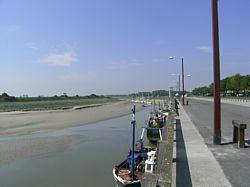 het haventje van Le Hourdel