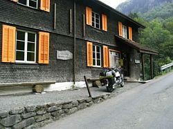 toegangsgebouw bij het Hölloch