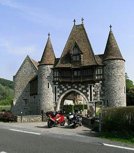 kasteel bij Berville-sur-Mer