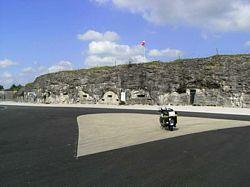 Fort de Vaux bij Verdun