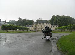 het Château St Cyr bij Lavilletertre