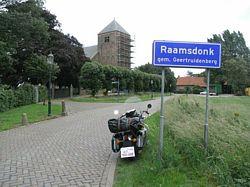 de Lambertus kerk van Raamsdonk