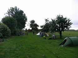 camping bij Tecklenburg