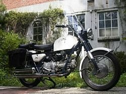 My Moto Guzzi N-F on May 5th, 2004