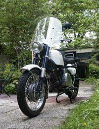 My Moto Guzzi Nuovo Falcone, May 5, 2004
