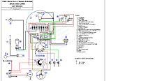 Moto Guzzi Nuovo Falcone wiring diagram