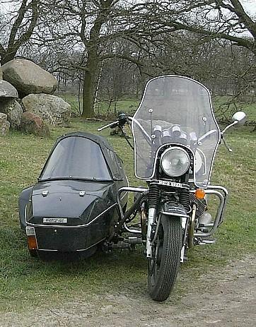 my Moto Guzzi California II - Moturist P1 sidecar rig