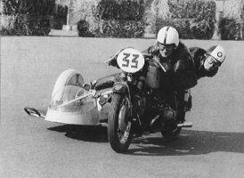 Ed & Netty, Zandvoort 23 09 1967 BMW 600
