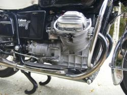 Moto Guzzi V7 850 Cal engine right hand view