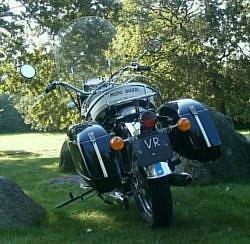 Moto Guzzi V7 850 Cali Wixom bags rear