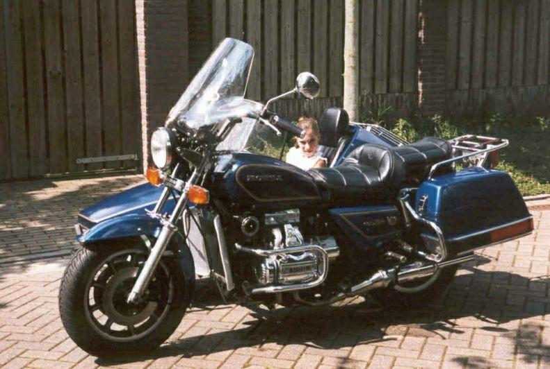 Wim van Eijk's Honda GL 1100 - Moturist combinatie