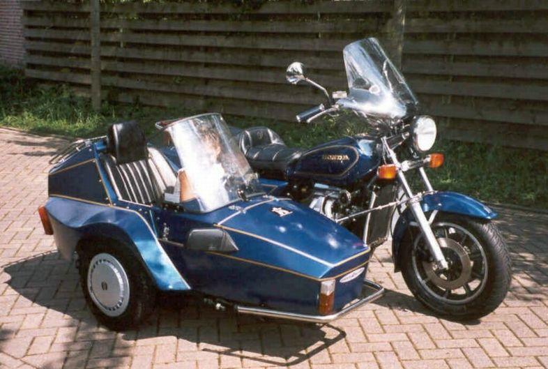 Wim van Eijks Honda GL 1100 - Moturist combination